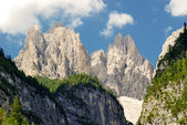Dolomiti - Val Cimoliana – Stone peaks — Stock Photo