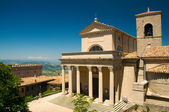 Basilica of Repubblica di San Marino side view — Stock Photo