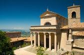 Basilica of Repubblica di San Marino side view — Stock Photo
