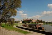 在克拉科夫,波兰,欧洲的瓦维尔城堡 — 图库照片