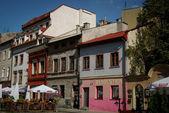 The jewish quarter in krakov, poland, europe — Stock Photo