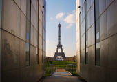 The city of paris with its monuments, france, europe — Stock Photo