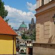 Prague,capital of czech repulic, with its palaces, bridges and castles — Foto de Stock