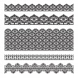 Seamless lace set — Stock Vector #10036205