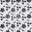 Seamless flower pattern background — Stockvektor