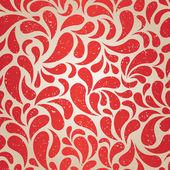 Red vintage wallpaper — Stock Vector