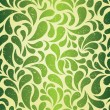 Green vintage wallpaper — Stock Vector