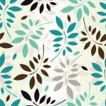 Seamless leaves wallpaper — Stock Vector #9581485