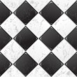 Black And White tile — Stock Vector