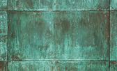Green copper plate texture — Stock Photo