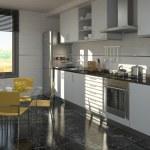 Kitchen interior design — Stock Photo #8215895
