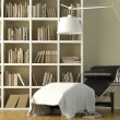 Reading corner interior — Stock Photo #8216652