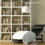 Reading corner interior — Stock Photo #8216652