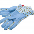 Garden Gloves isolated on white — Stock Photo