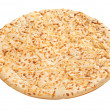 Pizza Crust (with clipping path) — Stock Photo