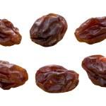 Raisins isolated on white — Stock Photo #8196144