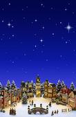 Christmas Village — Stock Photo