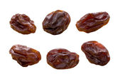 Raisins isolated on white — Stock Photo
