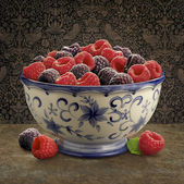 Raspberry Still life — Stock Photo