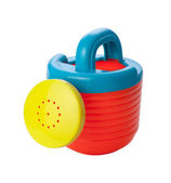 Toy Watering Can (clipping path) — Stock Photo