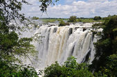 Victoria Falls, Zambezi River, Africa — Stock Photo
