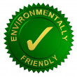 Stock Photo: Environmentally Friendly Seal