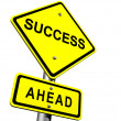 Stock Photo: Success Sign