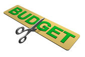 Cutting the Budget — Stock Photo