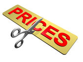 Price Cutting — Stock Photo