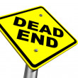 Stock Photo: Dead End Sign
