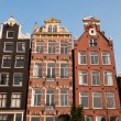 Canal Houses, Amsterdam - Stock Photo