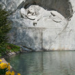 Lion Monument, Lucerne, Switzerland - Stock Photo