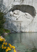 Lion Monument, Lucerne, Switzerland — Stock Photo