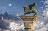 St Mark's Lion, Venice — Stock Photo