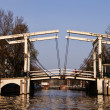 Magere Bridge, Amsterdam - Stock Photo