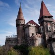 Corvinilor Castle - Hunedoara, Romania — Stock Photo #10144120