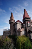 Corvinilor Castle - Hunedoara, Romania — Stock Photo