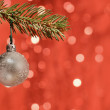 Stock Photo: Christmas bulb