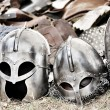 Helmets and armors — Stock Photo #8415950