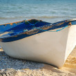 Fisherman boat - Stock Photo