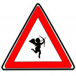 Cupid sign - Stock Vector