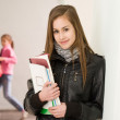 Cute young student girl. — Stock Photo #10384722