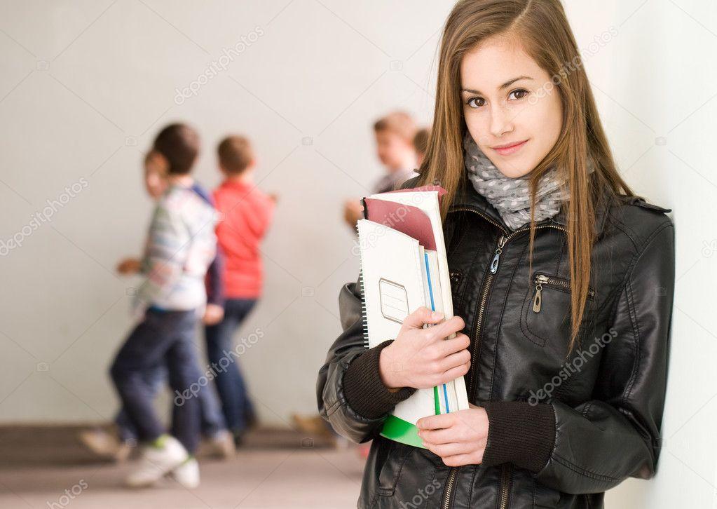 День студента брюнетка