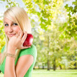Beautiful fit young blond. — Stock Photo #8184426