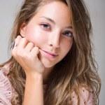 Beautiful young brunette woman. — Stock Photo #8184646