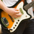 Guitar hero — Stock Photo