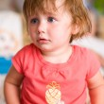 Adorable toddler baby girl. — Stock Photo