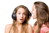 Share your music!!! — Stock Photo