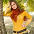 Gorgeous fall fashion girl. — Stock Photo #8328457