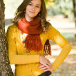 Gorgeous fall fashion girl. — Stock Photo #8328520